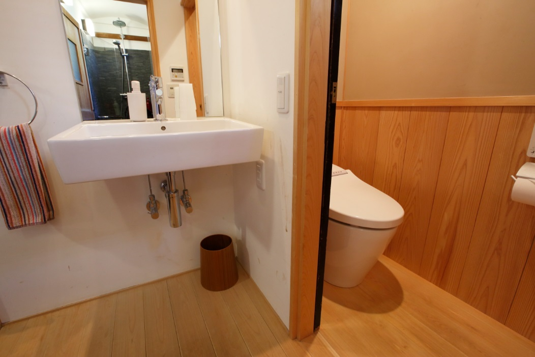 梅林庵洗面トイレ