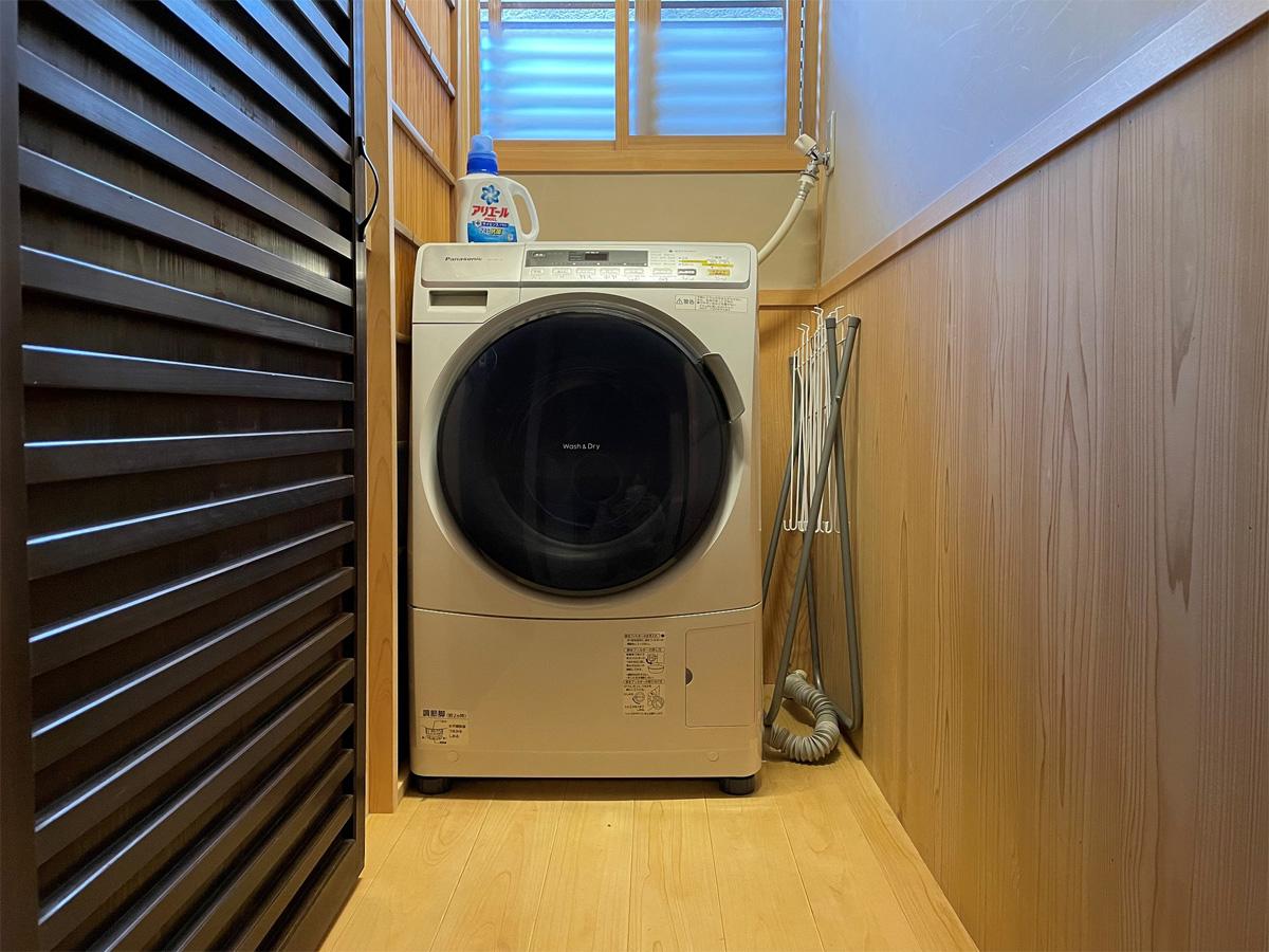紅葉庵洗濯機