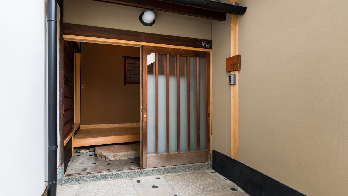 紅葉庵玄関