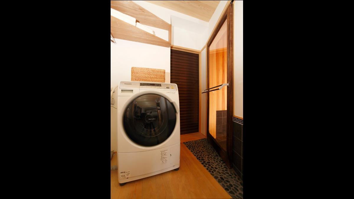 松風庵洗濯機